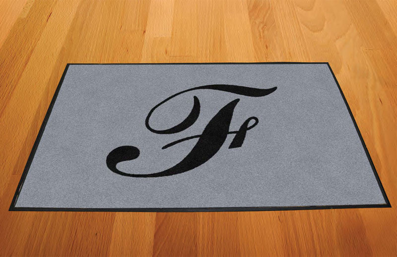 FINE 2 X 3 Rubber Backed Carpeted HD - The Personalized Doormats Company