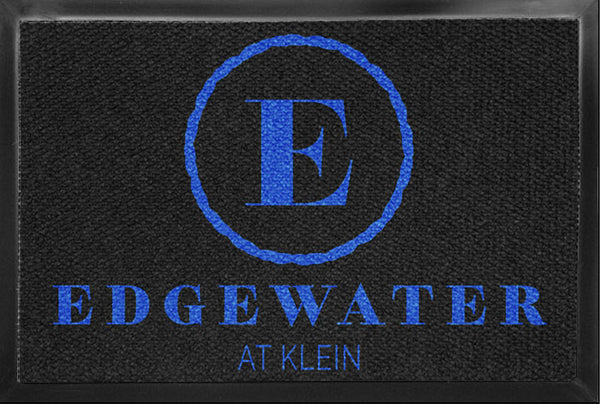 Edgewater - back door 4 X 6 Luxury Berber Inlay - The Personalized Doormats Company