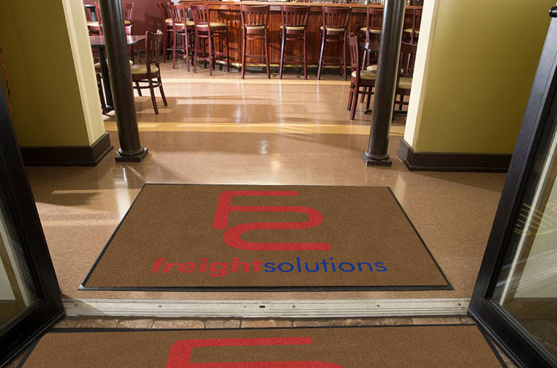 FS 4 X 6 Rubber Backed Carpeted HD - The Personalized Doormats Company