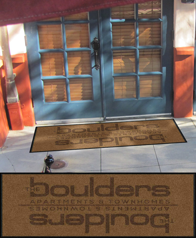 Executive Hotel Management #4 2 X 4.58 Rubber Backed Carpeted HD - The Personalized Doormats Company