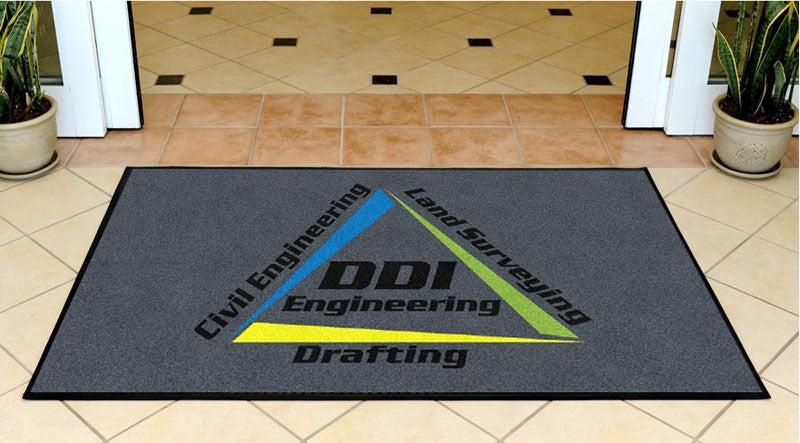 DDI Engineering 3 X 5 Rubber Backed Carpeted HD - The Personalized Doormats Company