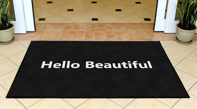 Joy Kanengeiser 3 X 5 Rubber Backed Carpeted HD - The Personalized Doormats Company