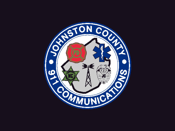 Johnston County 911 Communications 3 X 4 Rubber Scraper - The Personalized Doormats Company