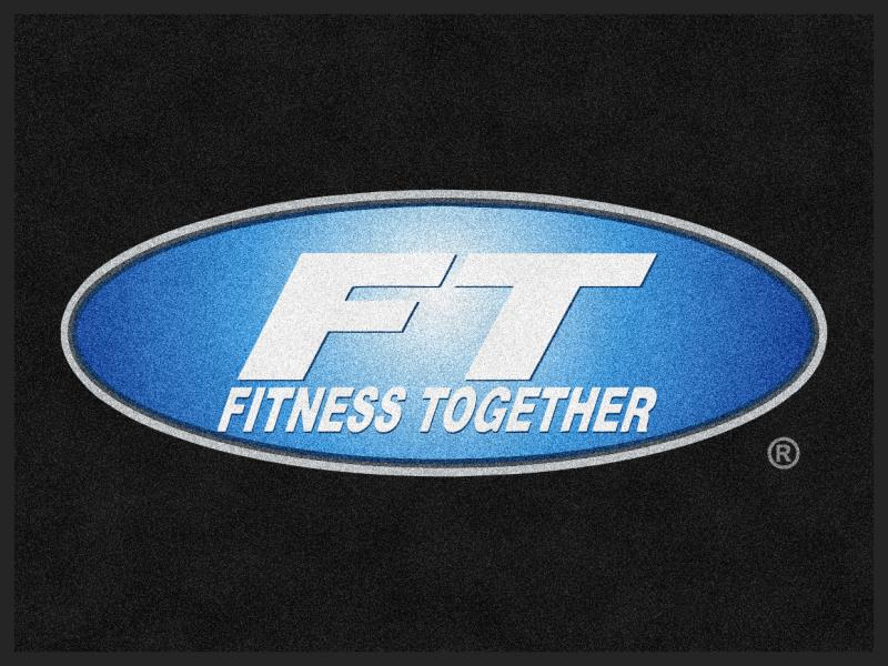 Fitness Together Ballantyne Front-option 3 x 4 Custom Plush 30 HD - The Personalized Doormats Company
