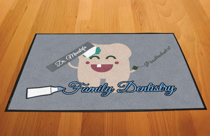 Briana Argueta 2 X 3 Rubber Backed Carpeted HD - The Personalized Doormats Company