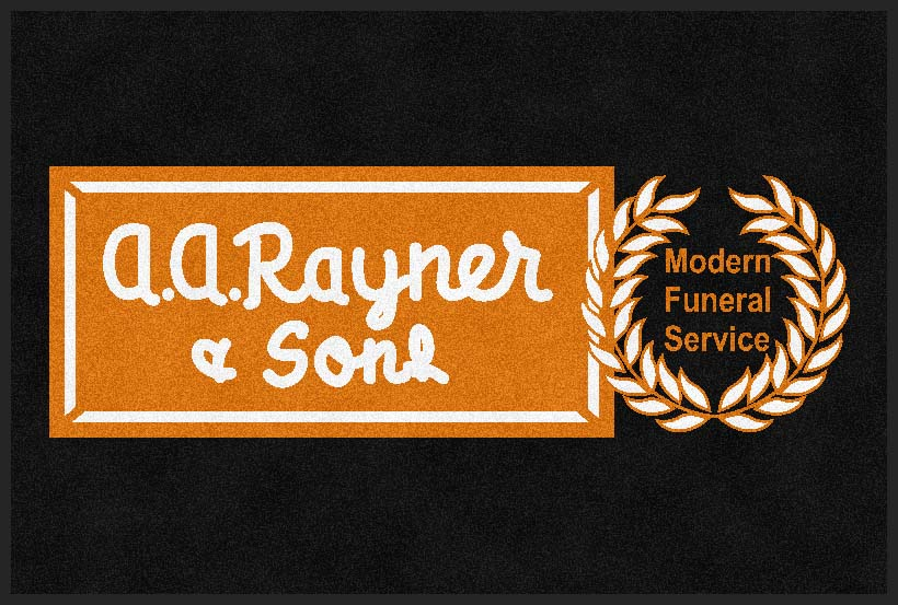 A A Rayner & Sons 4 X 6 Rubber Backed Carpeted HD - The Personalized Doormats Company
