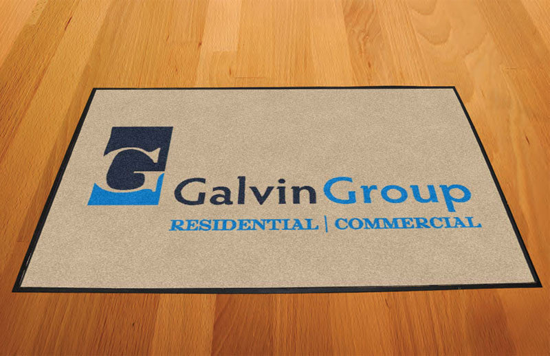 Galvin Group 2 X 3 Rubber Backed Carpeted HD - The Personalized Doormats Company