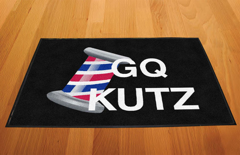 G Q KUTZ LLC 2 X 3 Rubber Backed Carpeted HD - The Personalized Doormats Company