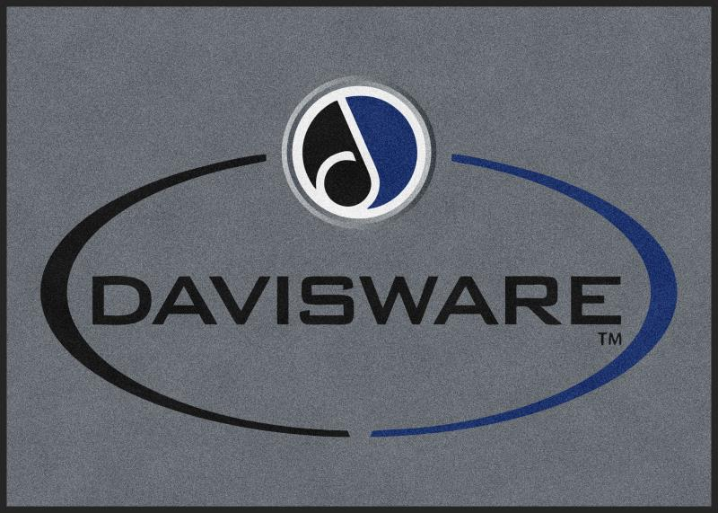 Davisware Rug 5 X 7 Rubber Backed Carpeted HD - The Personalized Doormats Company