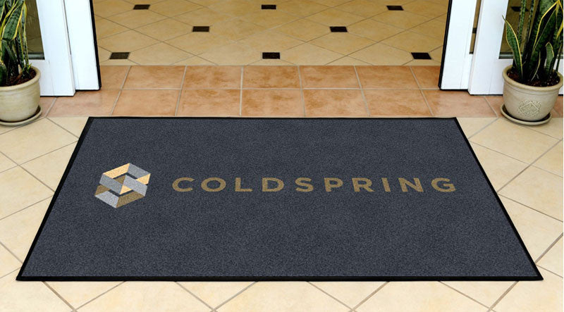 Cold Spring 3 x 5 Rubber Backed Carpeted HD - The Personalized Doormats Company