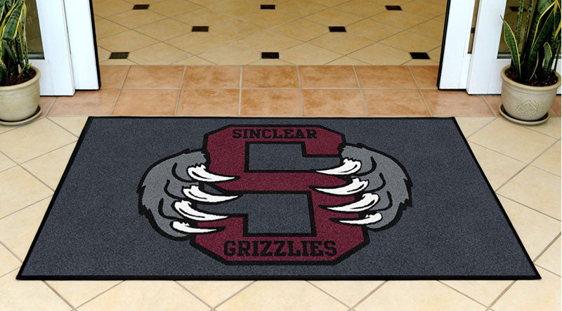 Grizzly Rugs 3 X 5 Rubber Backed Carpeted HD - The Personalized Doormats Company