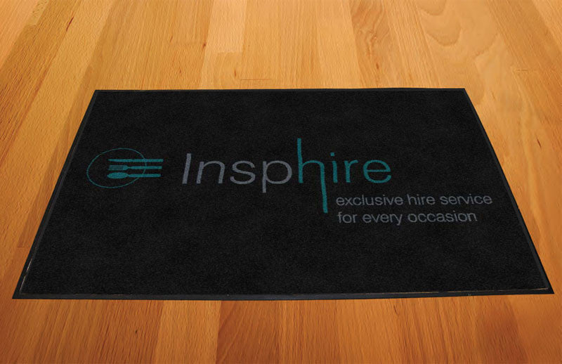 Insphire 2 X 3 Rubber Backed Carpeted HD - The Personalized Doormats Company
