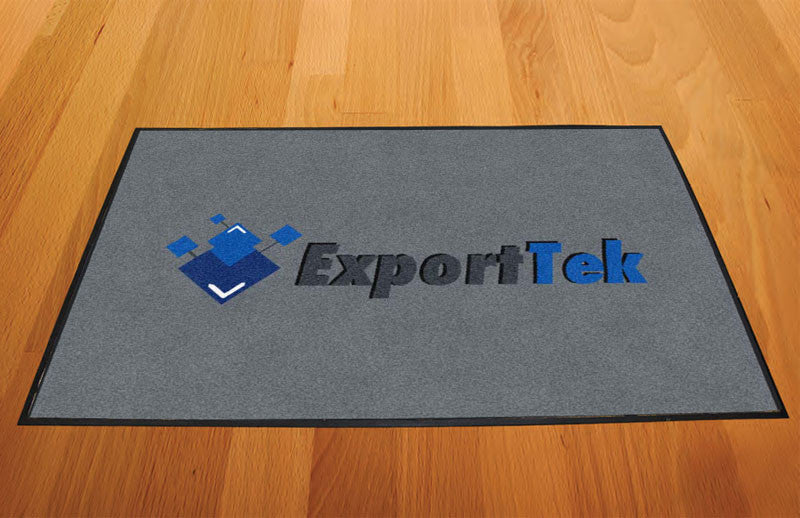 Exporttek 2 X 3 Rubber Backed Carpeted HD - The Personalized Doormats Company