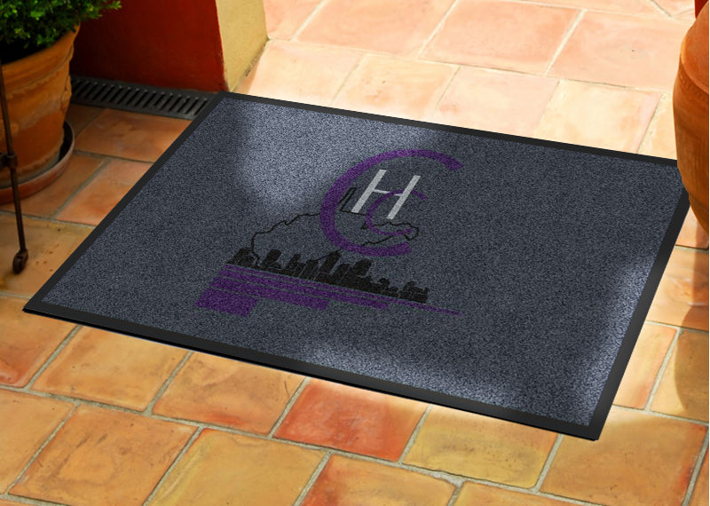 City of Hope Church 2 X 3 Rubber Backed Carpeted HD - The Personalized Doormats Company