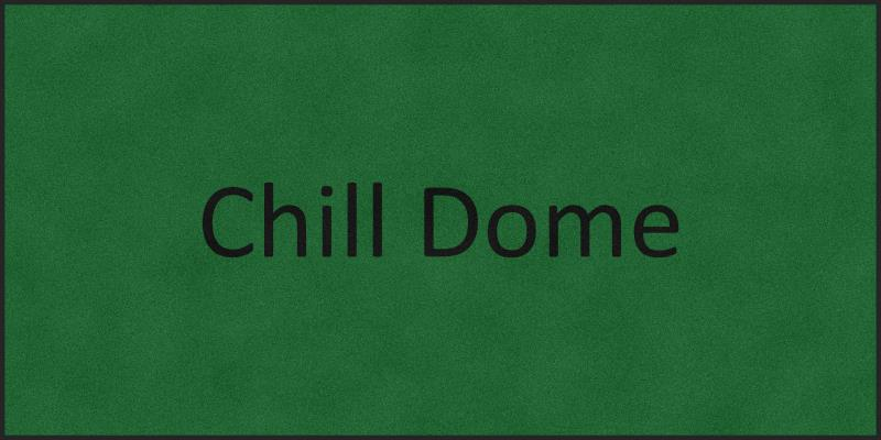 Chill Dome 6 X 12 Rubber Backed Carpeted HD - The Personalized Doormats Company