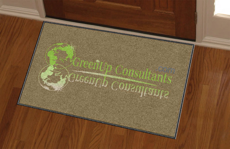 GreenUp 2 x 3 Custom Plush 30 HD - The Personalized Doormats Company