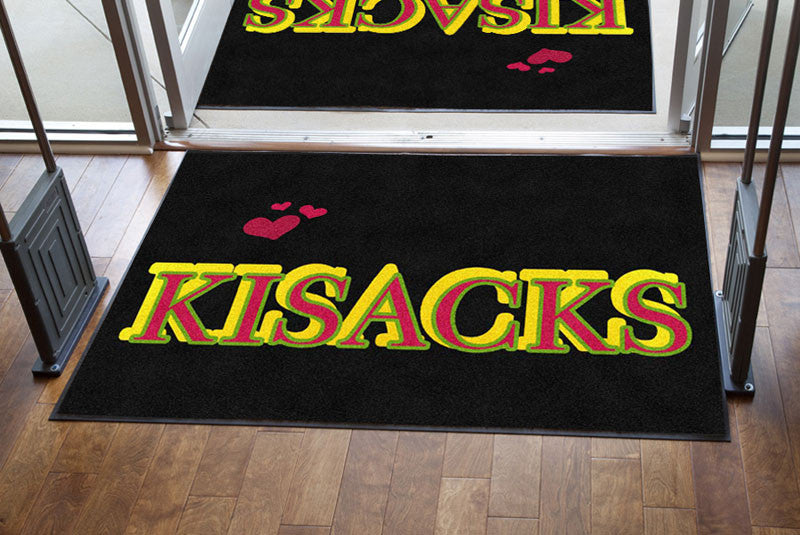 Karlos 4 X 6 Rubber Backed Carpeted HD - The Personalized Doormats Company