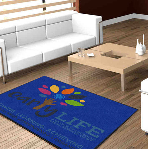Early LIFE Logo Carpets