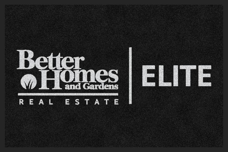 Better Homes and Gardens Real Estate Eli 2 X 3 Rubber Backed Carpeted HD - The Personalized Doormats Company