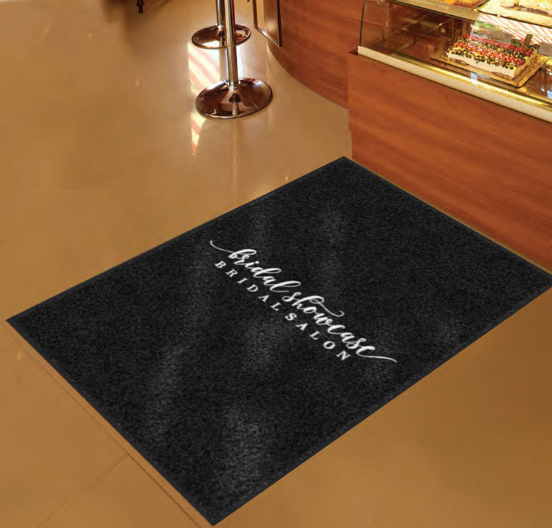Bridal Showcase Mat #2 3 X 5 Rubber Backed Carpeted HD - The Personalized Doormats Company