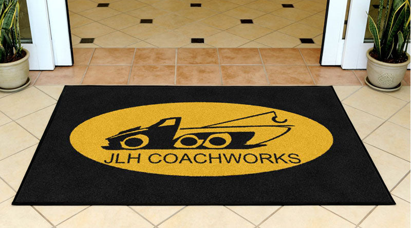 Hawkins 3 x 5 Rubber Backed Carpeted - The Personalized Doormats Company
