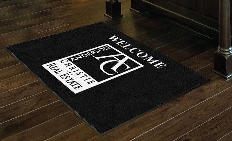 Anderson Christie Inc. 3 X 4 Rubber Backed Carpeted HD - The Personalized Doormats Company