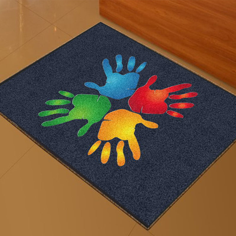 CHURCH ORGANIZERS FOUNDATION Small rug 2 x 3 Custom Plush 30 HD - The Personalized Doormats Company