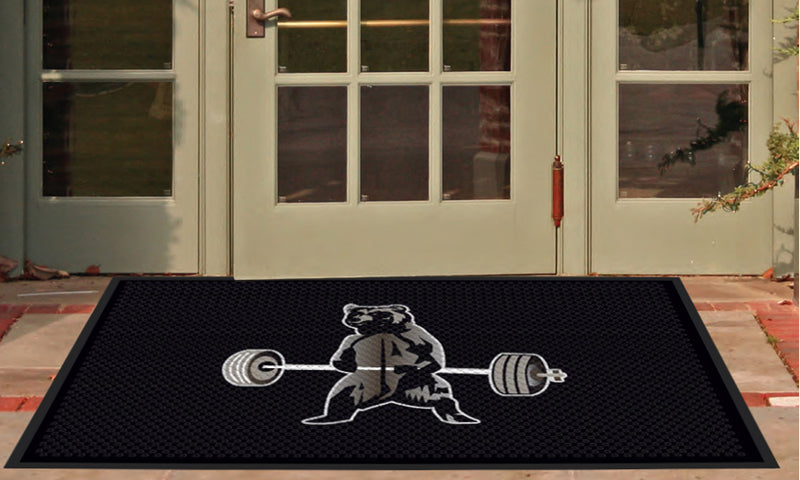 Joseph Kirkpatrick 4 X 6 Rubber Scraper - The Personalized Doormats Company