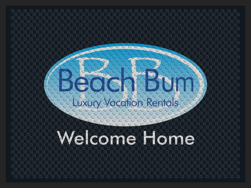 BeachBumBB2 3 X 4 Rubber Scraper - The Personalized Doormats Company