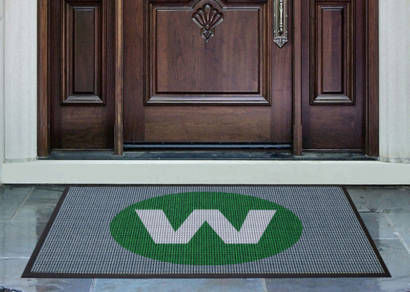Keith Willing Landscape Architecture 3 x 4 Waterhog Inlay - The Personalized Doormats Company