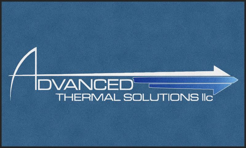 Advanced Thermal Solutions 6 X 10 Rubber Backed Carpeted HD - The Personalized Doormats Company