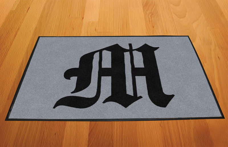 Alexis Munoz 2 X 3 Rubber Backed Carpeted HD - The Personalized Doormats Company