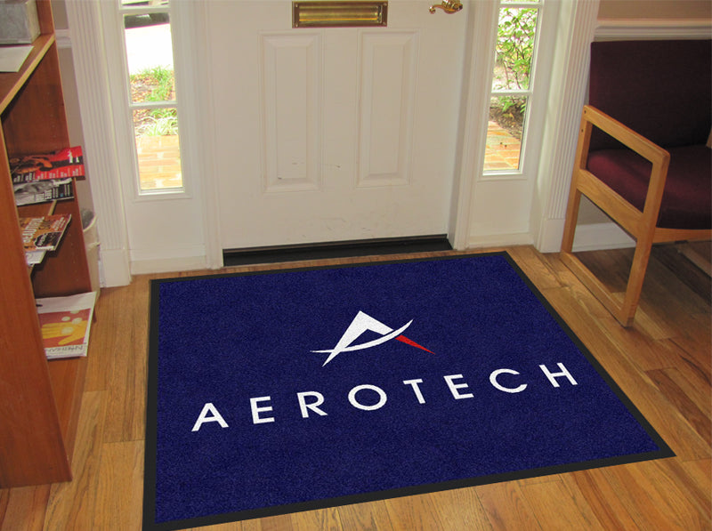 aerotech 2 2.5 X 3 Rubber Backed Carpeted - The Personalized Doormats Company