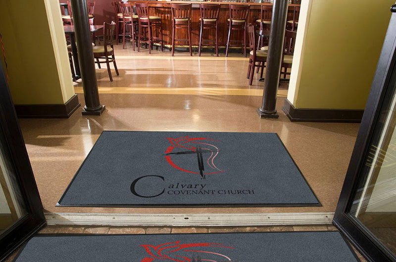 CCC2 4 X 6 Rubber Backed Carpeted HD - The Personalized Doormats Company