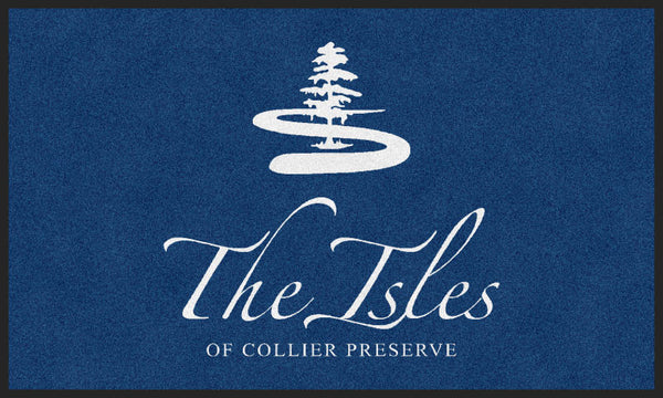 Isles of Collier Preserve 3 X 5 Rubber Backed Carpeted HD - The Personalized Doormats Company