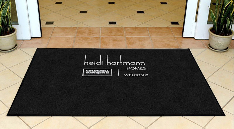 Heidi Hartmann Homes 3 X 5 Rubber Backed Carpeted HD - The Personalized Doormats Company
