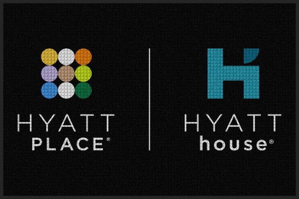 Hyatt House 4 X 6 Waterhog Impressions - The Personalized Doormats Company