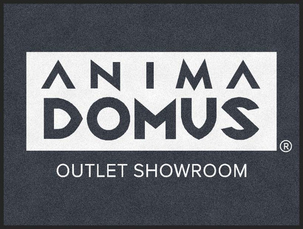 Anima Domus 3 X 4 Rubber Backed Carpeted HD - The Personalized Doormats Company