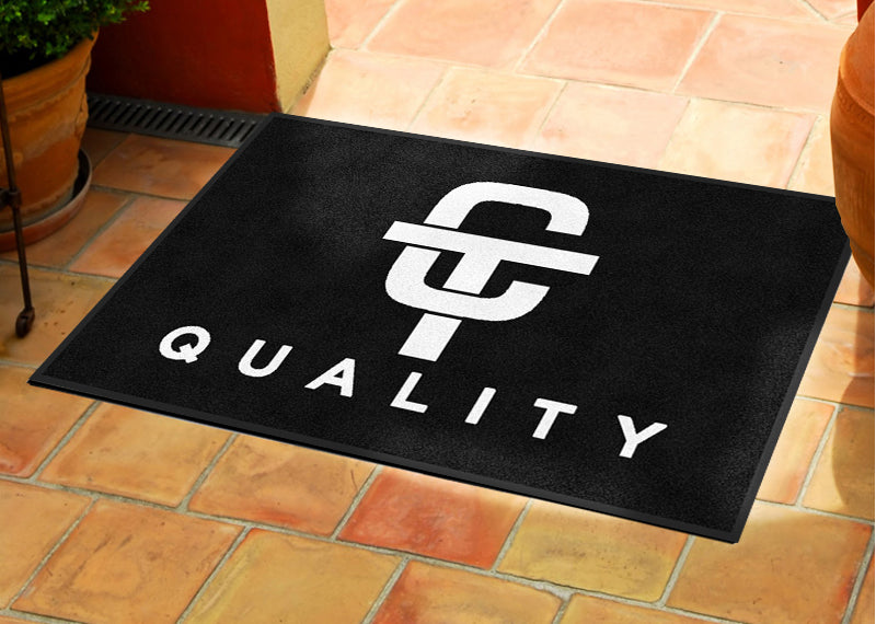 CT Quality 2 X 3 Rubber Backed Carpeted - The Personalized Doormats Company