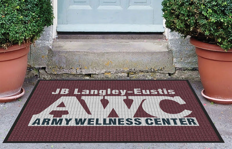 Fort Eustis 3 X 4 Waterhog Inlay - The Personalized Doormats Company