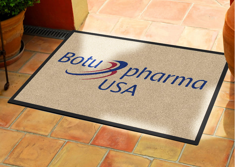Botupharma USA 2 X 3 Rubber Backed Carpeted HD - The Personalized Doormats Company