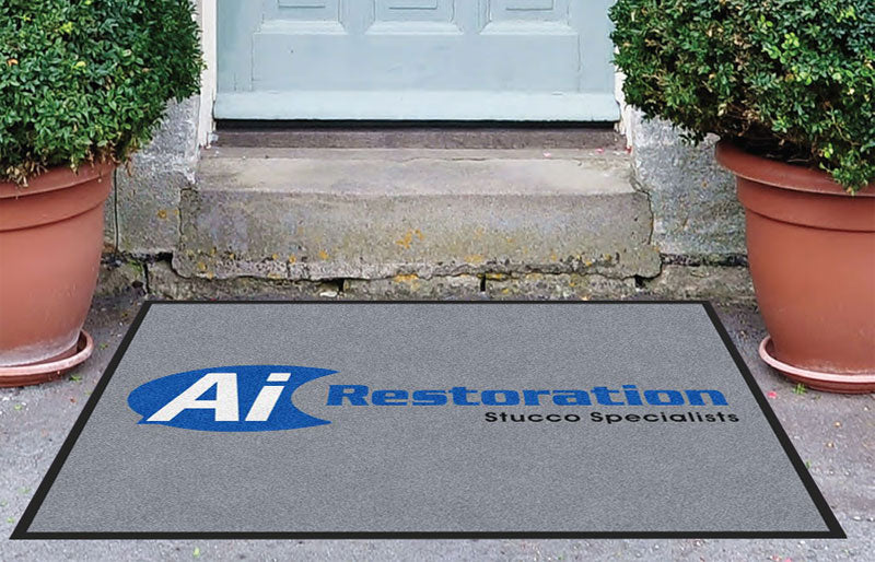 Ai Restoration 3 X 4 Rubber Backed Carpeted HD - The Personalized Doormats Company
