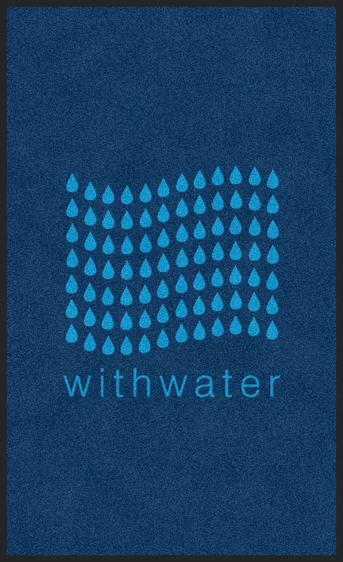 withwater
