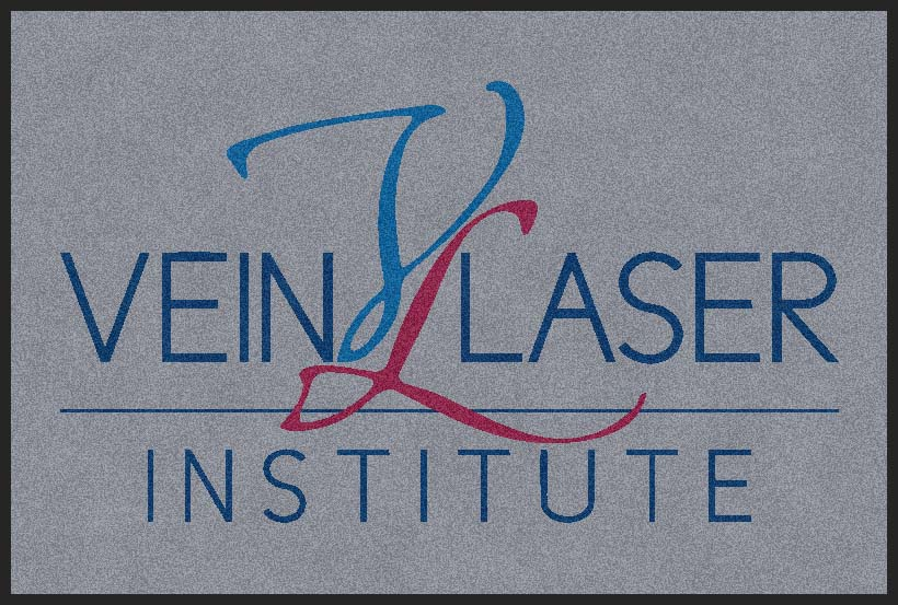 Vein and laser logo