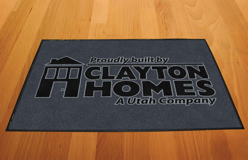 Clayton Homes 2 X 3 Rubber Backed Carpeted HD - The Personalized Doormats Company