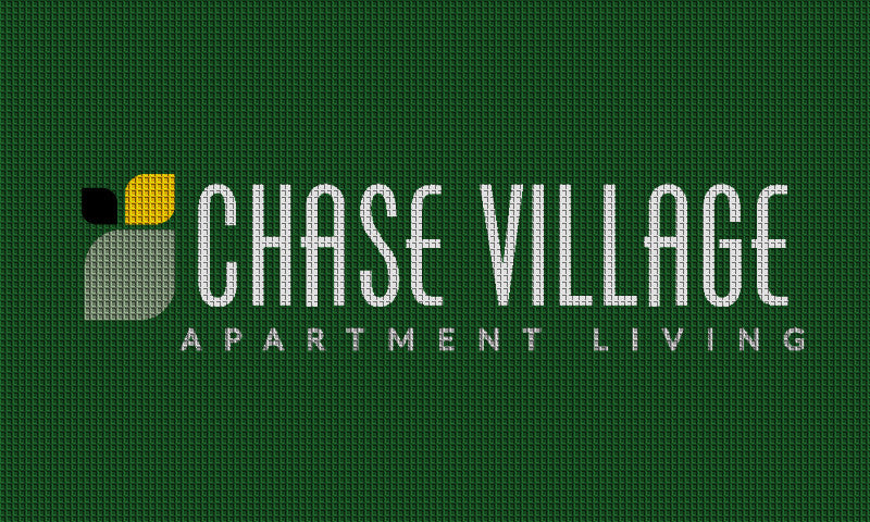 chase village 3 x 5 Waterhog Impressions - The Personalized Doormats Company