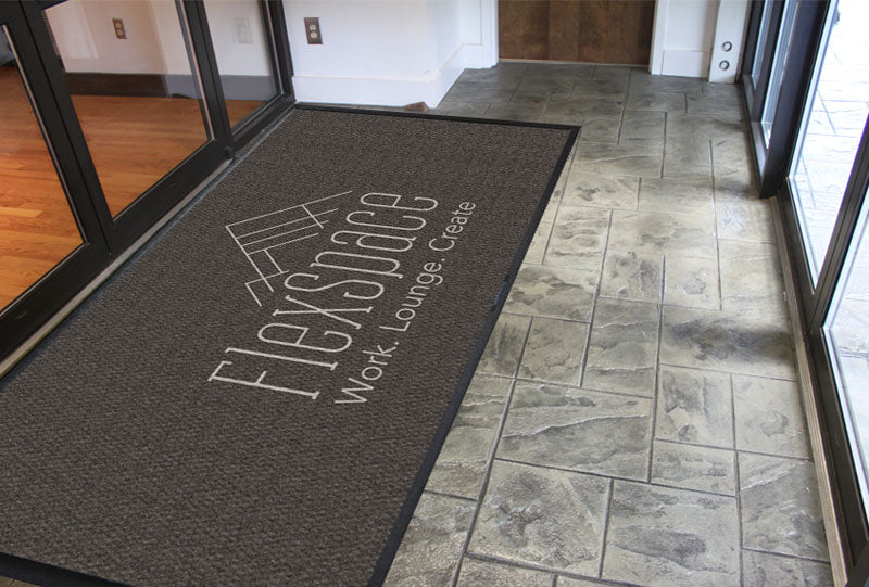 FlexSpace 8 X 16 Luxury Berber Inlay - The Personalized Doormats Company