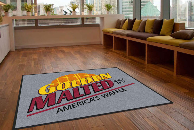 Carbon Company 3 X 4 Rubber Backed Carpeted HD - The Personalized Doormats Company