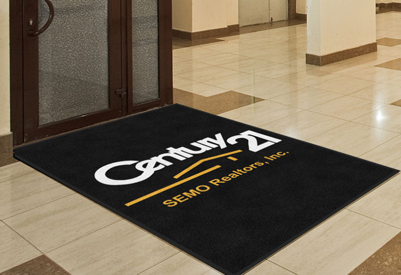 Century 21 SEMO Realtors, Inc. 4 X 6 Rubber Backed Carpeted HD - The Personalized Doormats Company