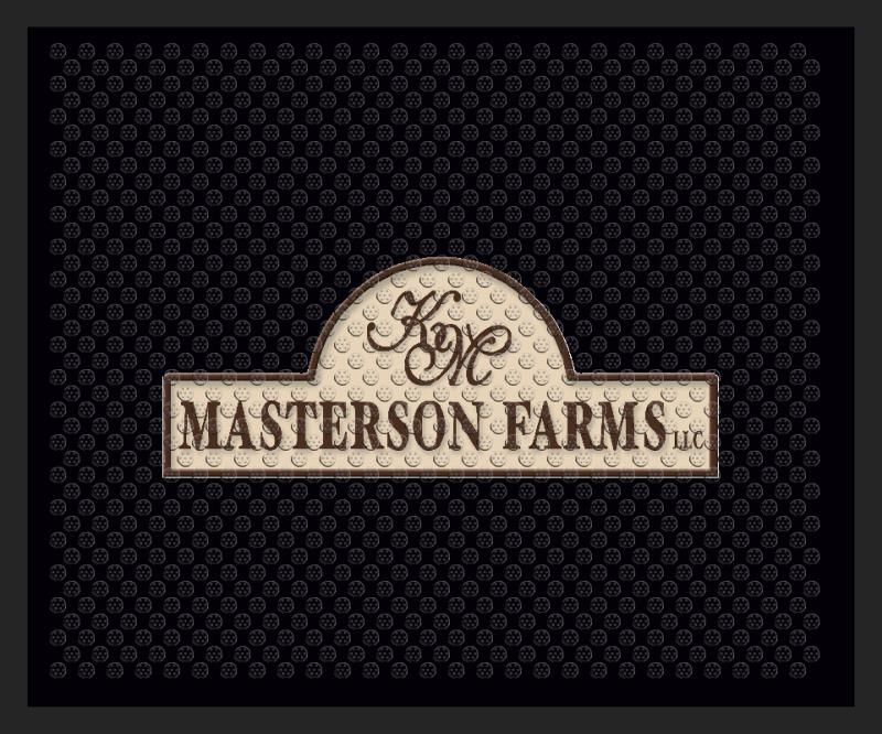 farm mat 2.5 X 3 Rubber Scraper - The Personalized Doormats Company